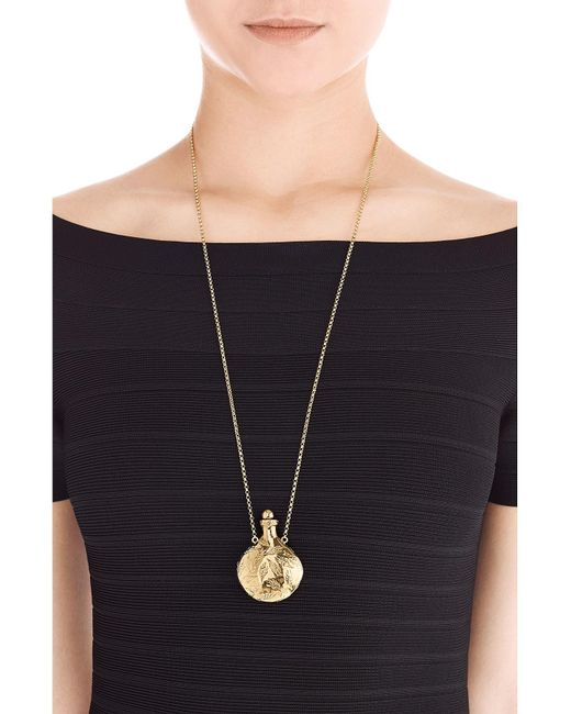 Aurelie Bidermann | Metallic 18kt Gold Plated Necklace | Lyst