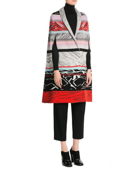 Missoni | Multicolor Wool Cape | Lyst
