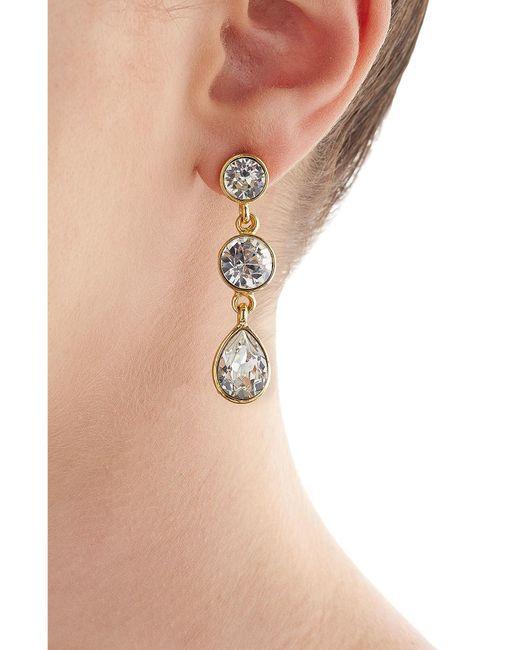 Kenneth Jay Lane | Metallic Embellished Earrings | Lyst