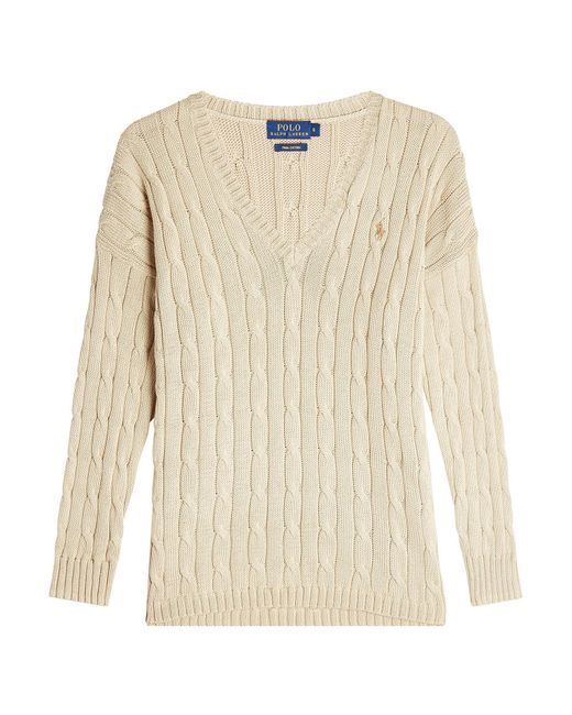Polo Ralph Lauren - Natural Cotton Pullover - Lyst