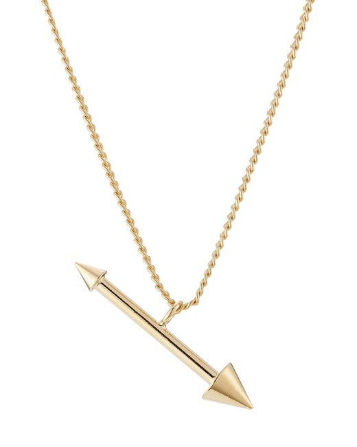 Isabel Marant   Metallic Arrow Pendant Necklace   Lyst