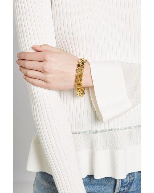 Isabel Marant | Multicolor Chunky Chainlink Bracelet | Lyst