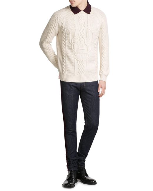 Alexander McQueen | Multicolor Wool Pullover for Men | Lyst