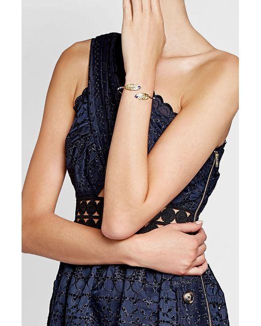 Gas Bijoux   Metallic Duality Penna 24kt Gold-plated Bracelet   Lyst