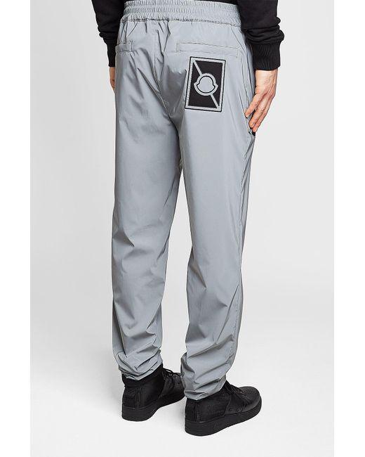 fdcd5d7f2398 Lyst - Moncler Tech Pants in Gray for Men