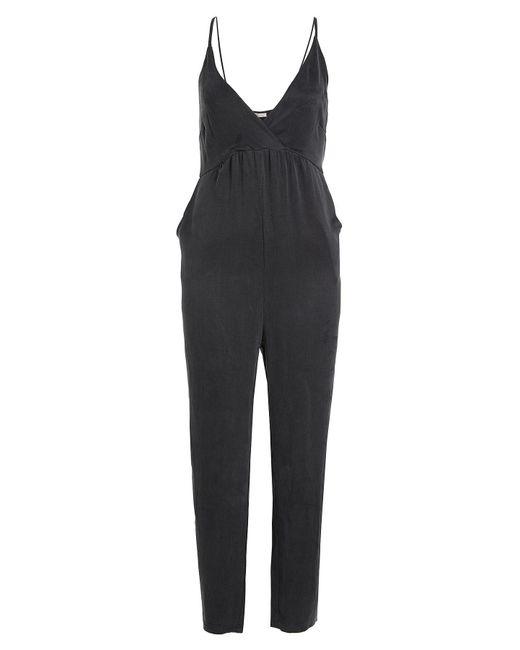 American Vintage - Black Jumpsuit - Lyst
