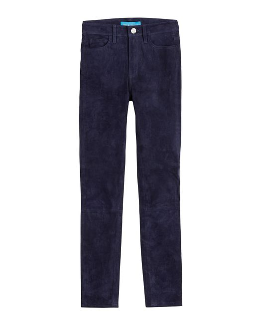 MiH Jeans | Blue Suede Pants | Lyst