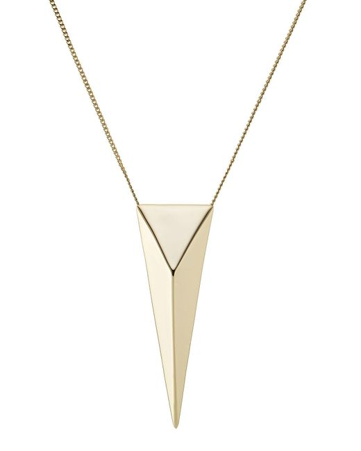 Alexis Bittar | Metallic Gold-plated Necklace | Lyst