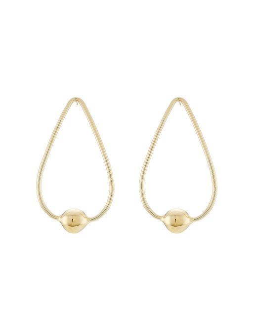Jennifer Fisher - Metallic Gold-plated Earrings - Lyst