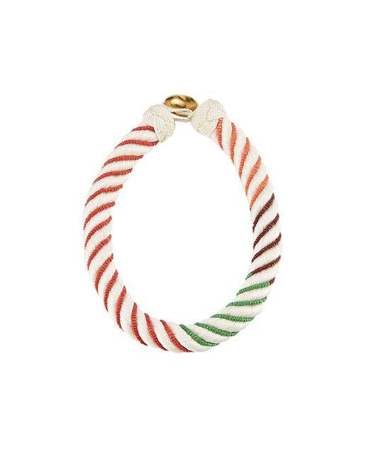 Aurelie Bidermann - Orange Bead Embellished Necklace - Lyst