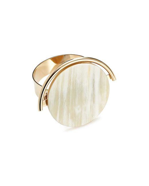 Marni - Metallic Metal Bracelet With Horn Detail - Lyst