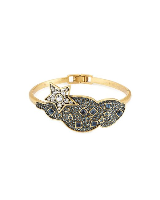 Marc Jacobs | Metallic Embellished Bracelet | Lyst