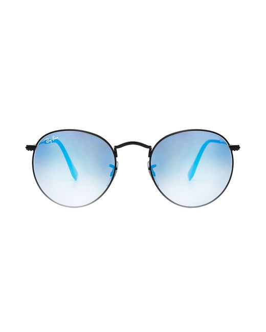 Ray-ban Round Metal Sunglasses With Colored Lenses
