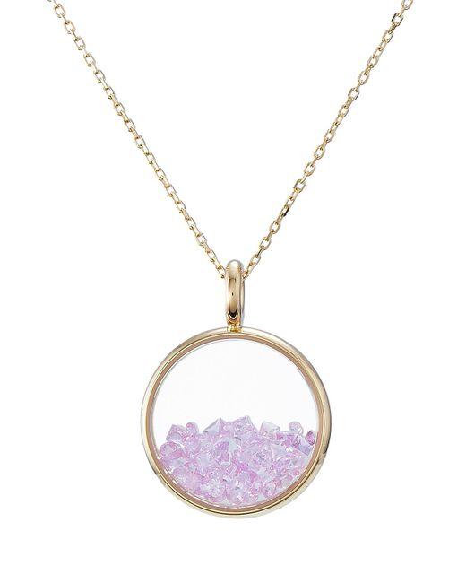 Aurelie Bidermann | 18kt Yellow Gold Baby Chivor Necklace With Sapphires | Lyst