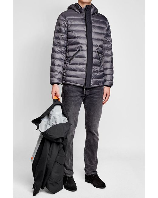 ... Parajumpers | Multicolor Toudo Down Jacket With Hood for Men | Lyst ...