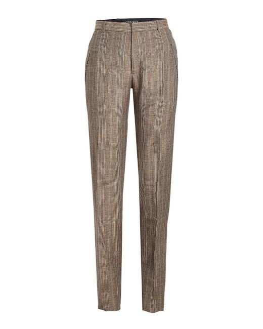 Y. Project - Multicolor Striped Pants In Wool And Linen - Lyst