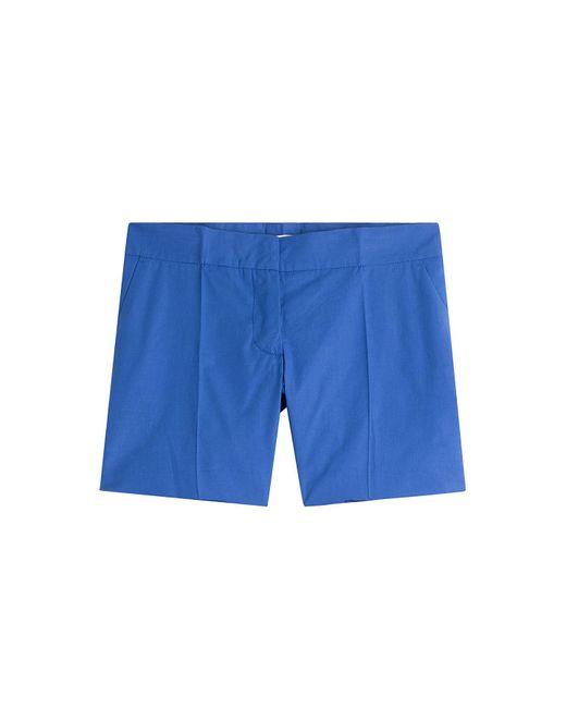 Vanessa Bruno - Blue Cotton Shorts - Lyst
