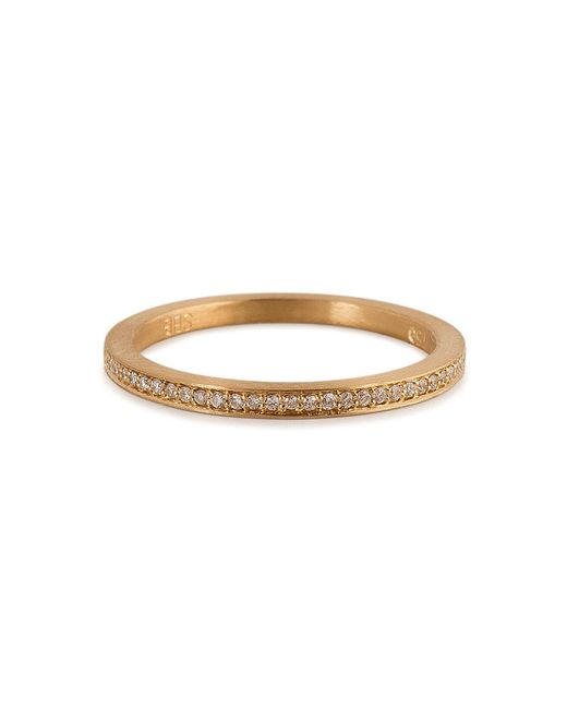 Sophie Bille Brahe | Metallic Gold/diamond Rue De Diamant Ring | Lyst