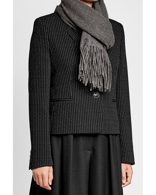 Polo Ralph Lauren | Gray Scarf With Cashmere And Wool | Lyst