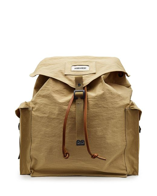 DSquared² | Multicolor Backpack With Leather And Cotton for Men | Lyst