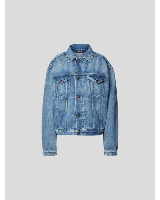 Maison Margiela Blue Jeansjacke mit Brusttaschen