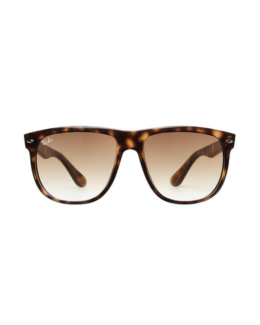 Ray-Ban | Brown Tortoise Shell Oversized Sunglasses | Lyst