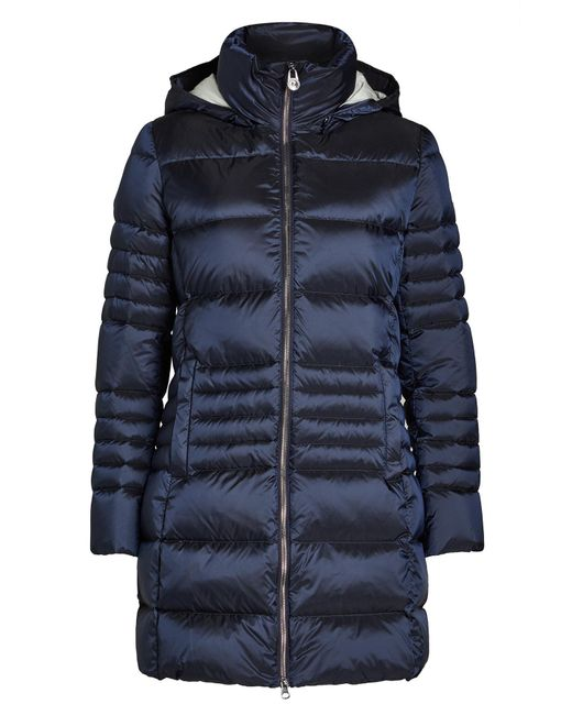 Colmar   Blue Quilted Down Jacket With Hood   Lyst