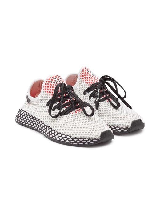 huge selection of 87843 e5d64 Adidas Originals - Multicolor Deerupt Runner Sneakers for Men - Lyst ...