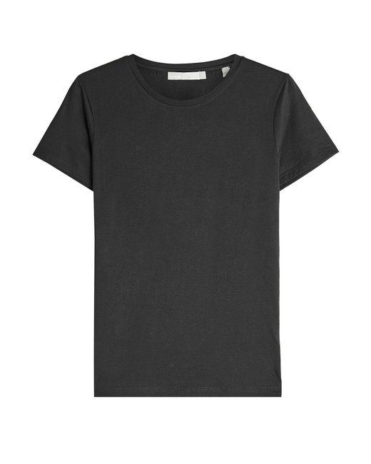 Vince - Blue Pima Cotton T-shirt - Lyst