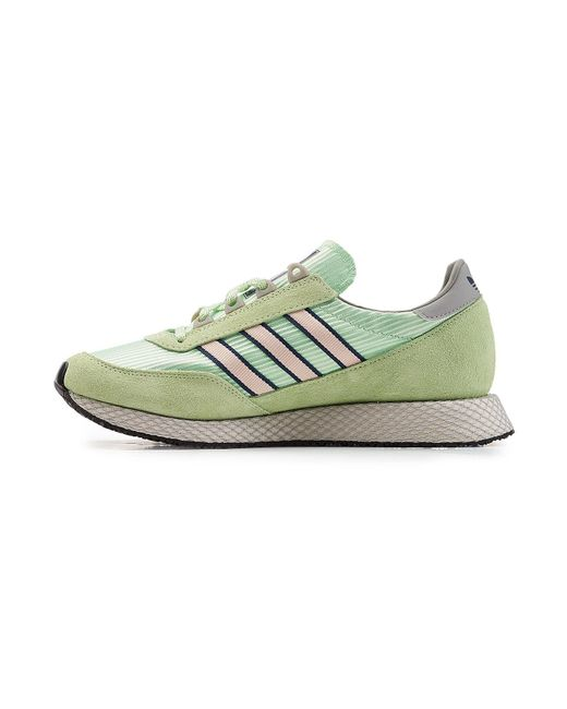check out e8b1a c3321 ... Adidas Originals - Multicolor Glenbuck Spzl Sneakers With Suede for Men  - Lyst ...