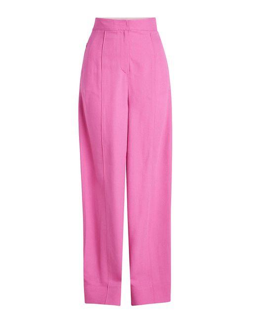 Roksanda - Pink Lapari Wide-leg Pants - Lyst