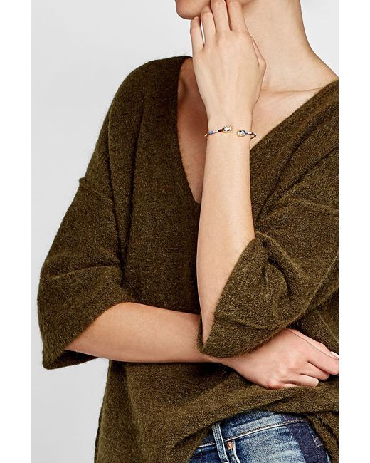 Gas Bijoux | Metallic Duality Scaramouche 24kt Gold-plated Bracelet | Lyst