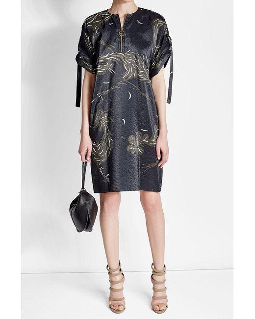 Nina Ricci   Black Leather Hobo Bag   Lyst