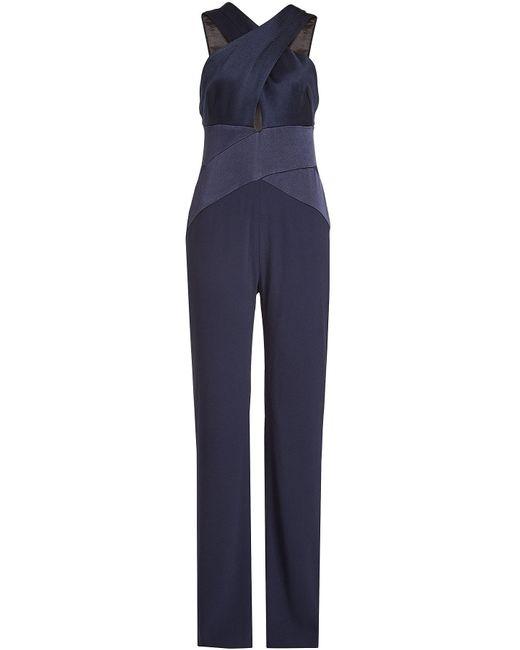 Galvan - Blue Jumpsuit - Lyst