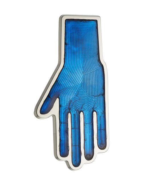 Raf Simons - Blue Pin Hand aus Metall for Men - Lyst