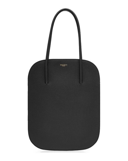 Nina Ricci | Black Leather Tote | Lyst