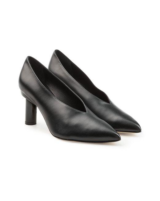 Tibi - Black Leather Pumps - Lyst