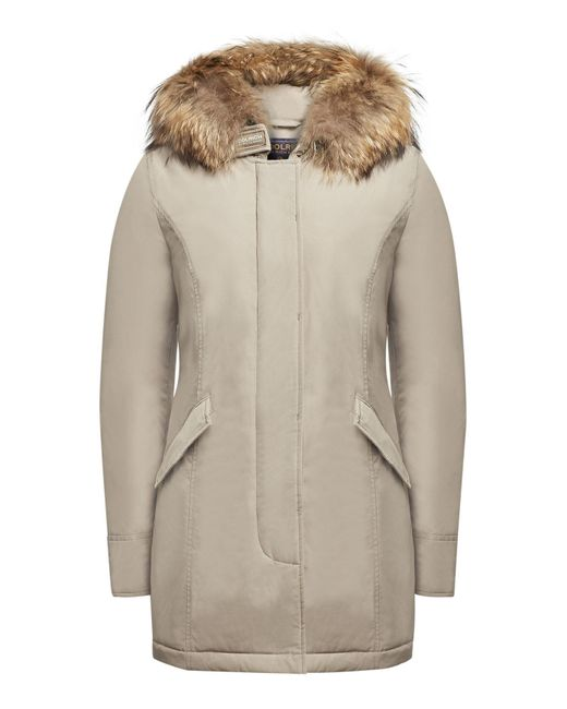 Woolrich - Multicolor Luxury Arctic Down Parka With Fur-trimmed Hood - Lyst