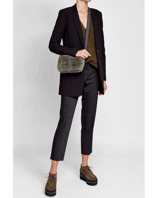 Brunello Cucinelli | Multicolor Beaver Fur Shoulder Bag | Lyst