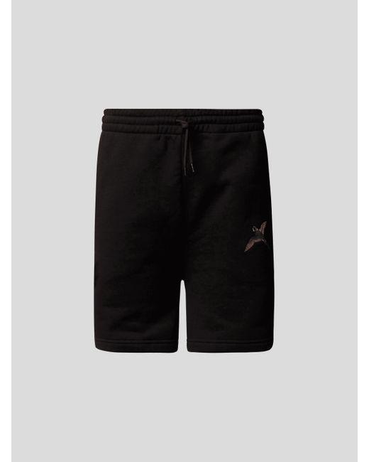 Axel Arigato Sweatbermudas mit Stitching in Black für Herren