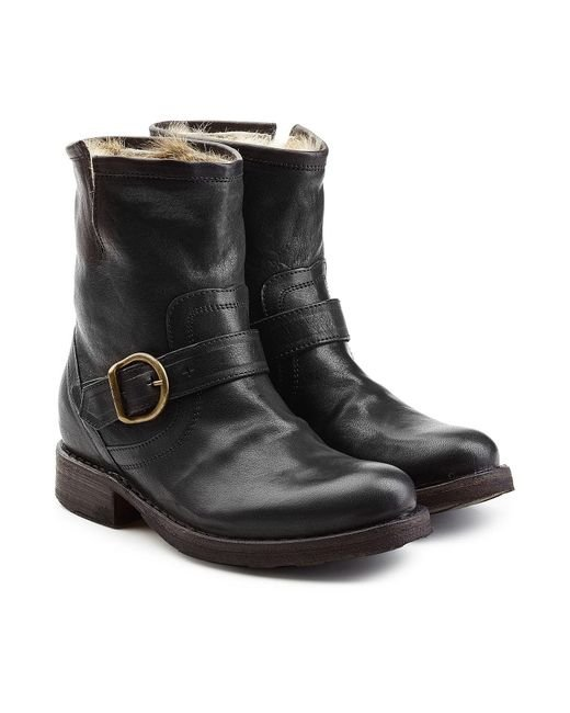 Fiorentini + Baker - Gray 'eternity Elie' Boots - Lyst