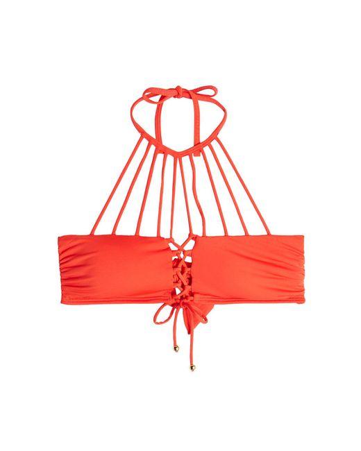 OndadeMar - Red Bikini Top - Lyst