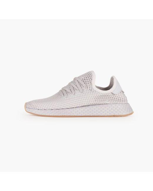 adidas Originals Deerupt Runner | BD7883 | Grå | Sneakers | Skor | Footish