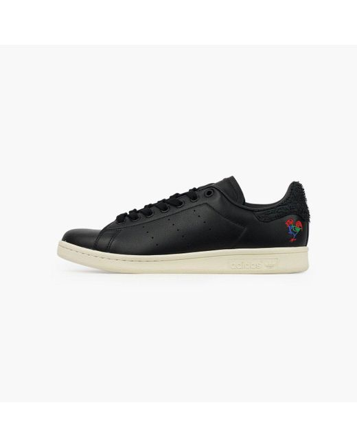Adidas Originals - Black Stan Smith Cny for Men - Lyst ... 24326c110