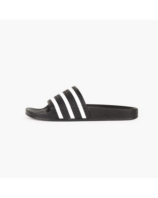 new arrivals eb0ee f9767 Adidas Originals - Black Adilette - Lyst ...