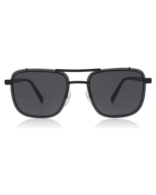 Prada Black 59us Rectangle Sunglasses for men