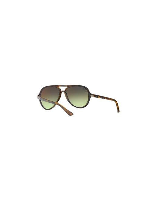 372c2fca1 ... sunglasses hut 28fba e30db wholesale ray ban brown rb4125 59 cats 5000  for men lyst c9df7 c98e6 ...