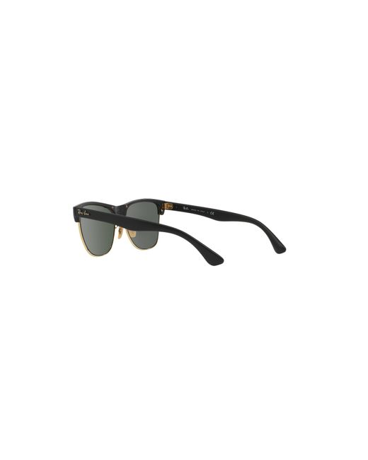 331f092b3e ... order ray ban black rb4175 57 clubmaster oversized gradient collection  lyst 8de6f ac028