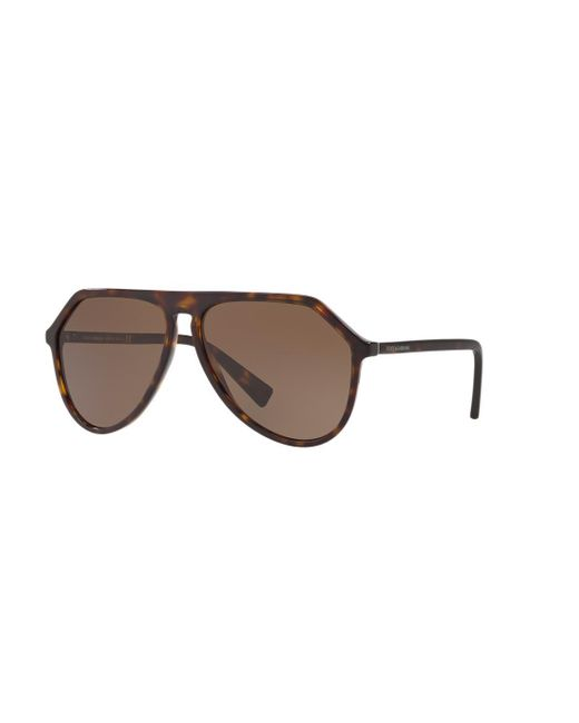 DG4341 Dolce & Gabbana de hombre de color Brown