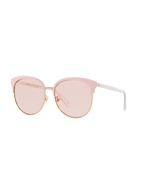 67db6a6827c Gucci Gc001127 in Pink - Lyst